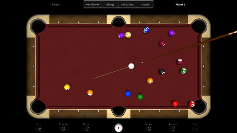 Billiards HD screen shot 1