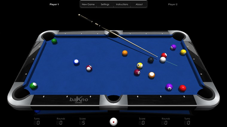 Billiards HD screen shot 3