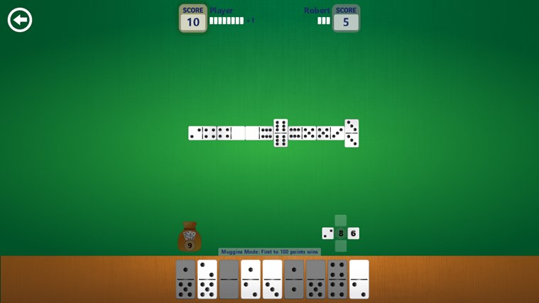 Dominoes screen shot 1