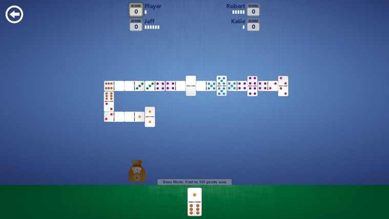 Dominoes screen shot 5