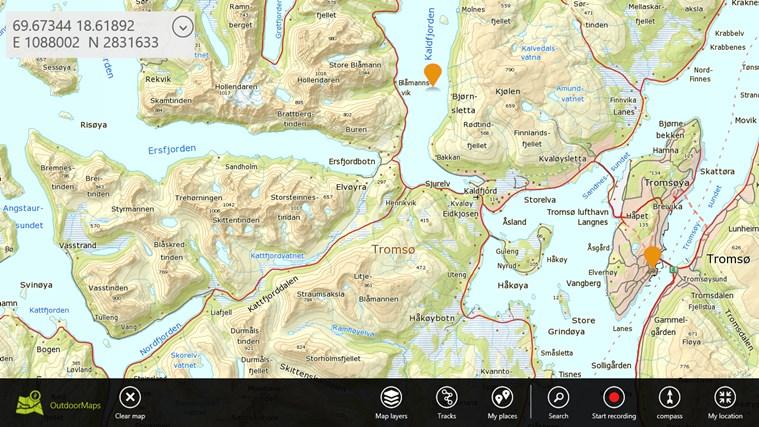 OutdoorMaps schermafbeelding 5