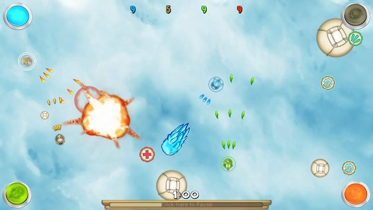 SPiN WARS screen shot 1