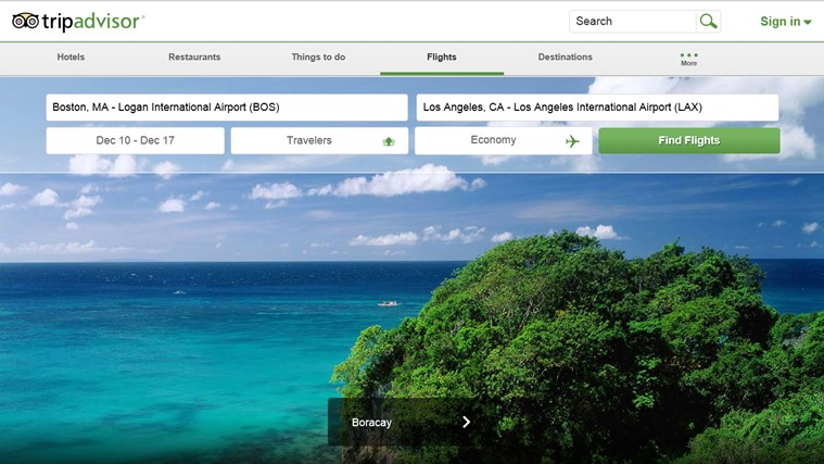 TripAdvisor Hotels Flights Restaurants screen shot 7