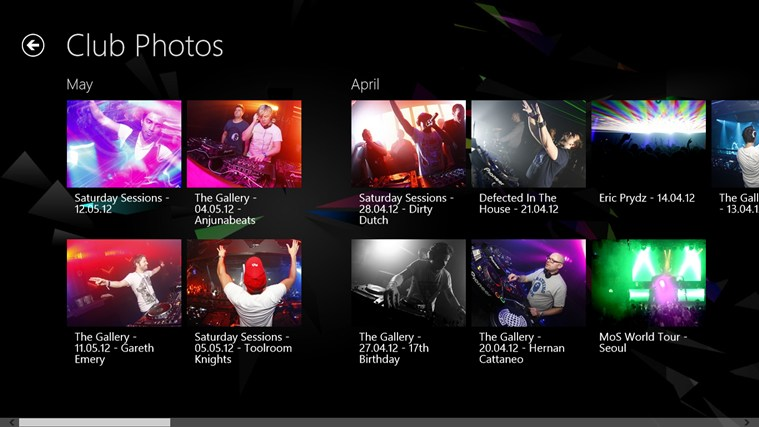 Ministry of Sound screen shot 5