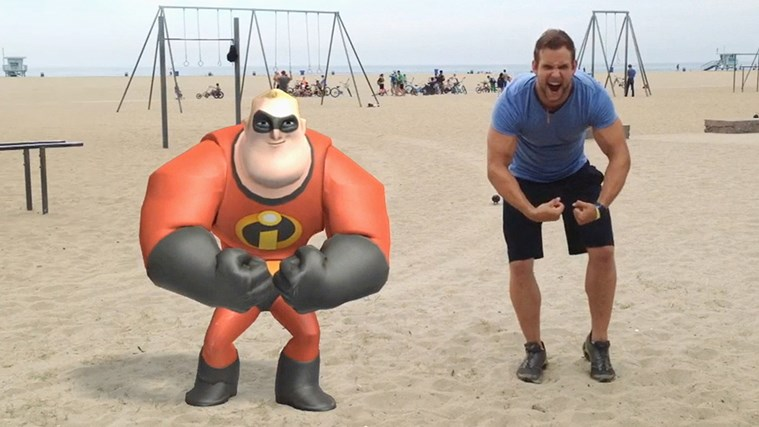 Disney Infinity: Action! screen shot 3