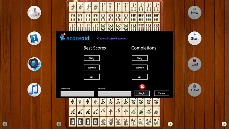Mahjong Domino screen shot 1
