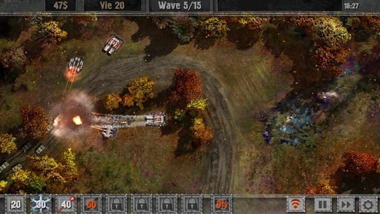 Defense zone 2 screen shot 7