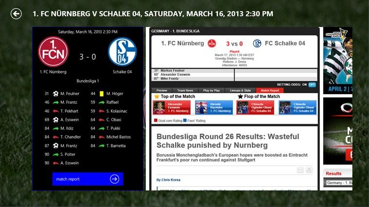 1st4Fans Schalke 04 edition captura de ecrã 1