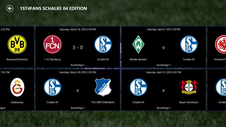 1st4Fans Schalke 04 edition captura de ecrã 3