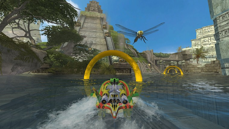 Hydro Thunder Hurricane screen shot 1
