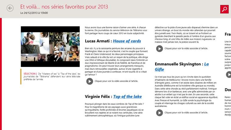 Télérama Guide TV capture d'écran 3