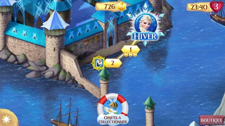 La Reine des Neiges Free Fall capture d'écran 1