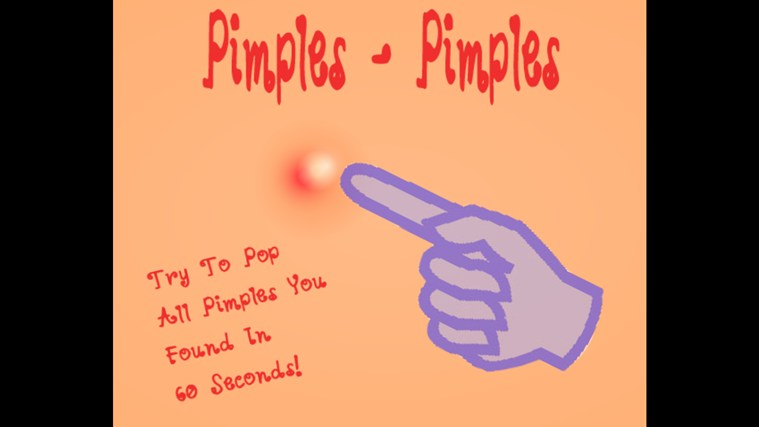 Pimples-Pimples! screen shot 1