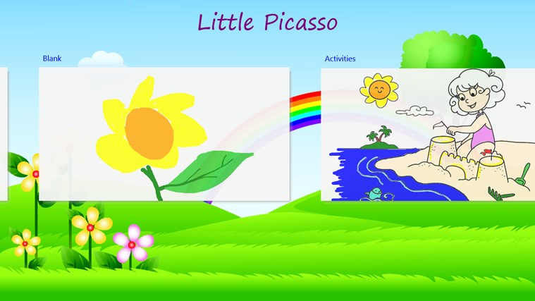 Little Picasso Finger Painting petikan skrin 1