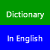 Dictionary In English