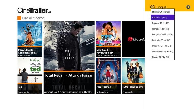 CineTrailer cattura di schermata 5
