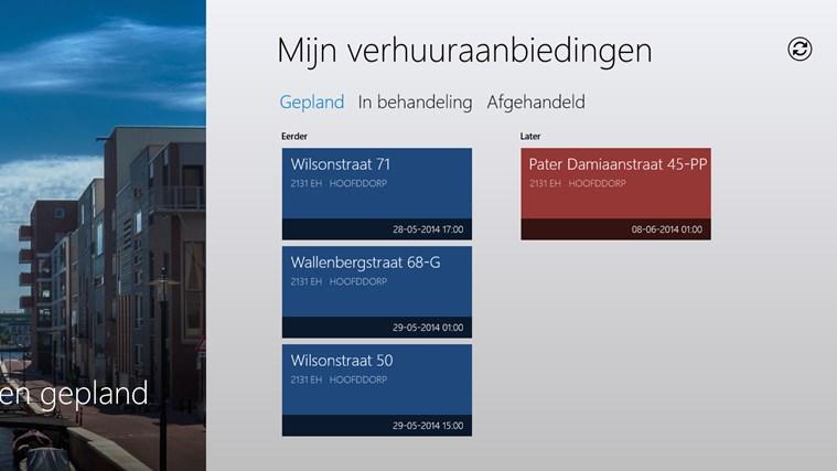 VerhuurApp schermafbeelding 1