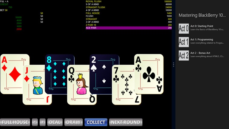 7 Cards Poker Bola Tangkas petikan skrin 5