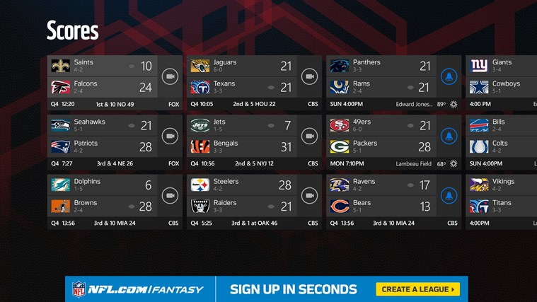 NFL Mobile screen shot 1