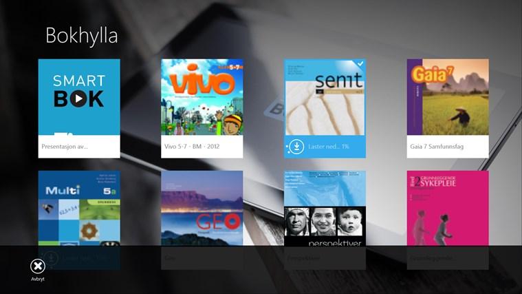 Smartbok skjermbilde 3