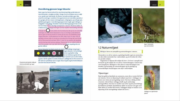 Smartbok skjermbilde 7