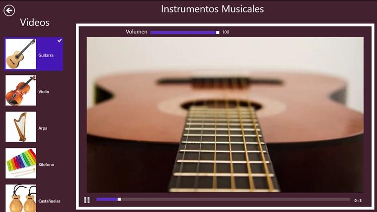 Instrumentos Musicales captura de pantalla 3