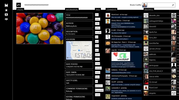 Flickrology screen shot 5