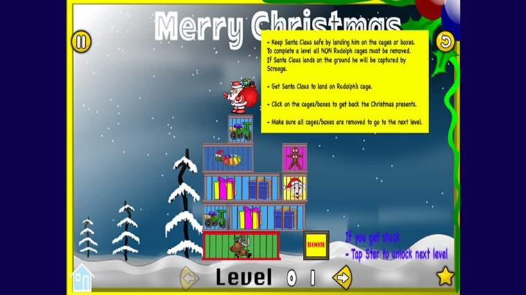 Rescue Xmas screen shot 1