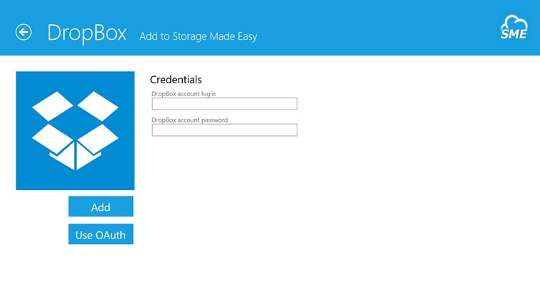 Cloud File Explorer screen shot 3