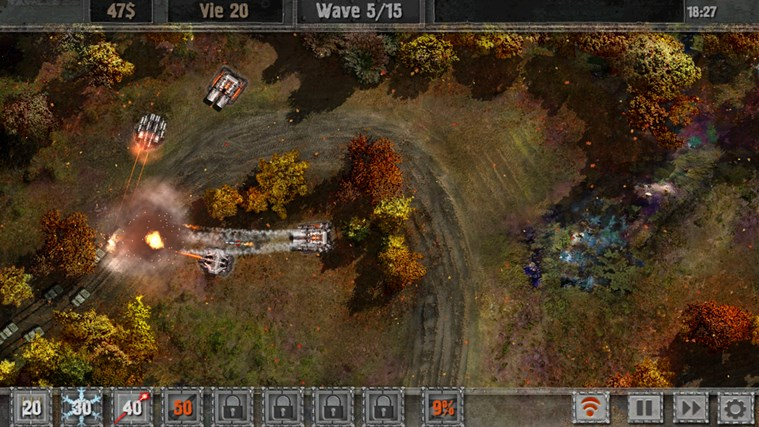 Defense zone 2 screen shot 7