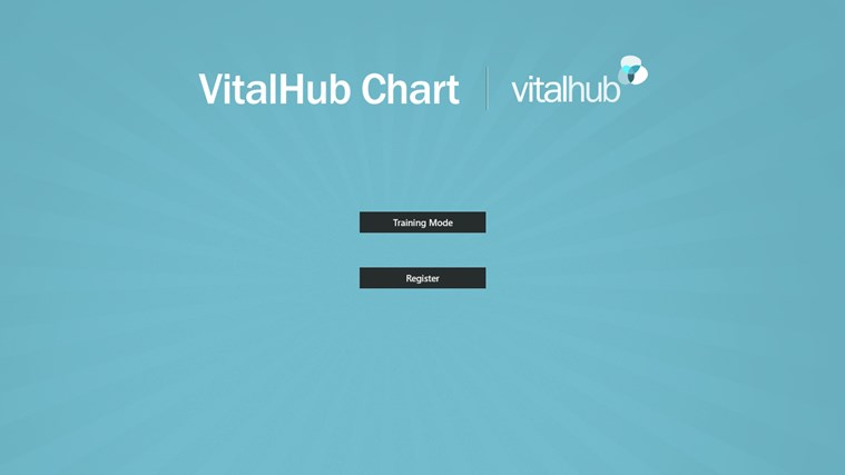 VitalHub Chart screen shot 1