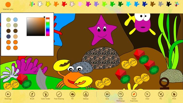 Paint 4 Kids screen shot 1