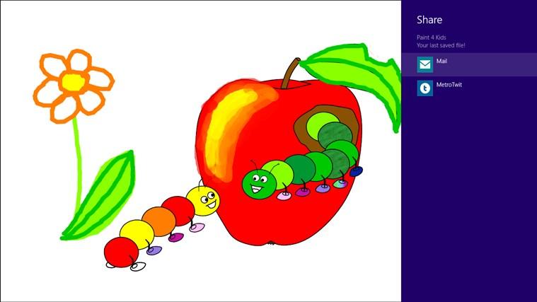 Paint 4 Kids screen shot 5