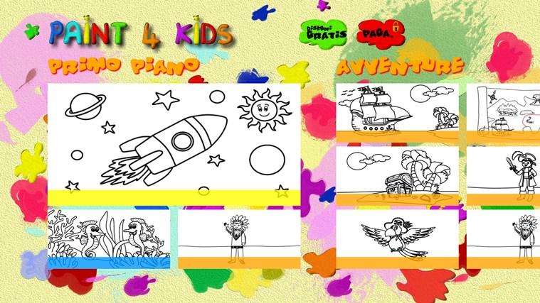 Paint 4 Kids cattura di schermata 3
