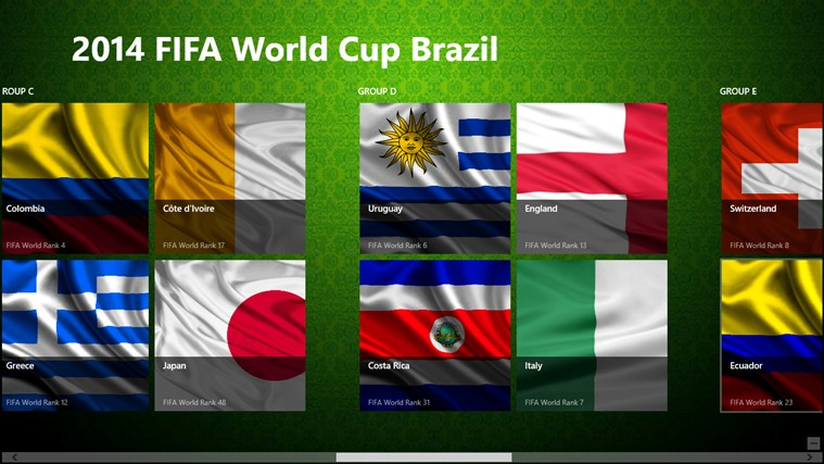 2014 Fifa World Cup Brazil 2014 screen shot 1