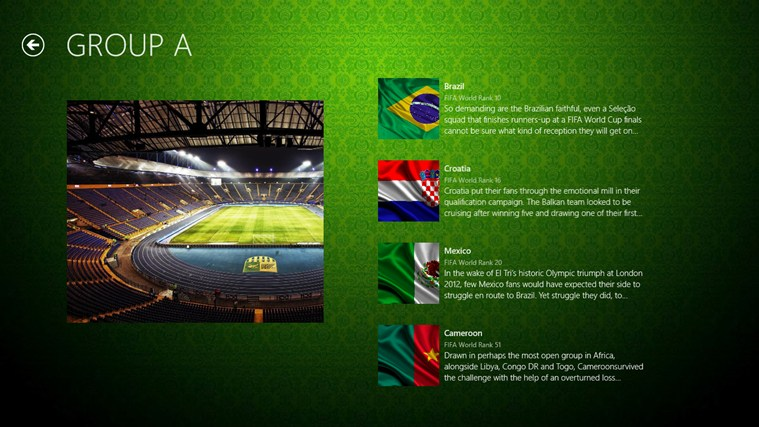 2014 Fifa World Cup Brazil 2014 screen shot 3