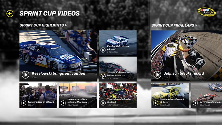 NASCAR screen shot 3