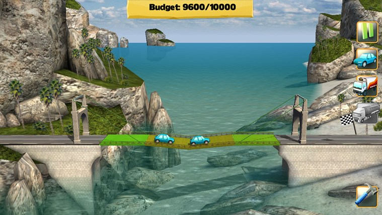 Bridge Constructor screen shot 3