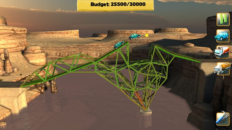 Bridge Constructor screen shot 5