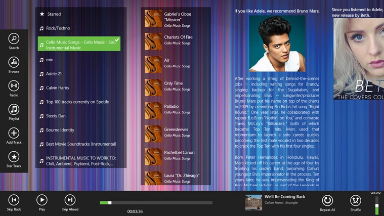 Spotlite - Listen to Spotify screen shot 7