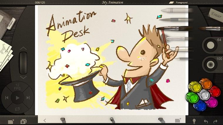 Animation Desk screen shot 1