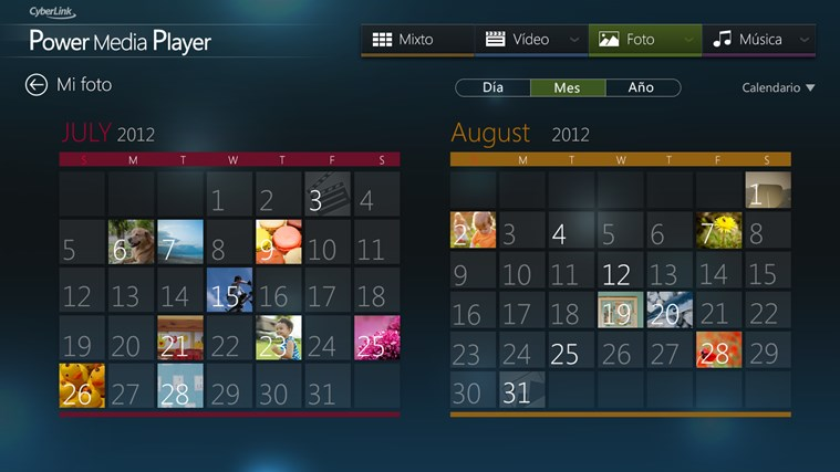 CyberLink Power Media Player captura de pantalla 1