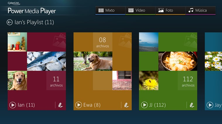 CyberLink Power Media Player captura de pantalla 3