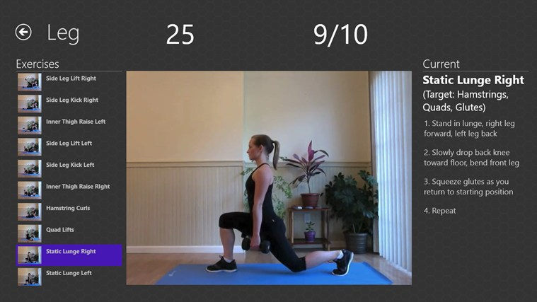 Daily Workouts screen shot 3