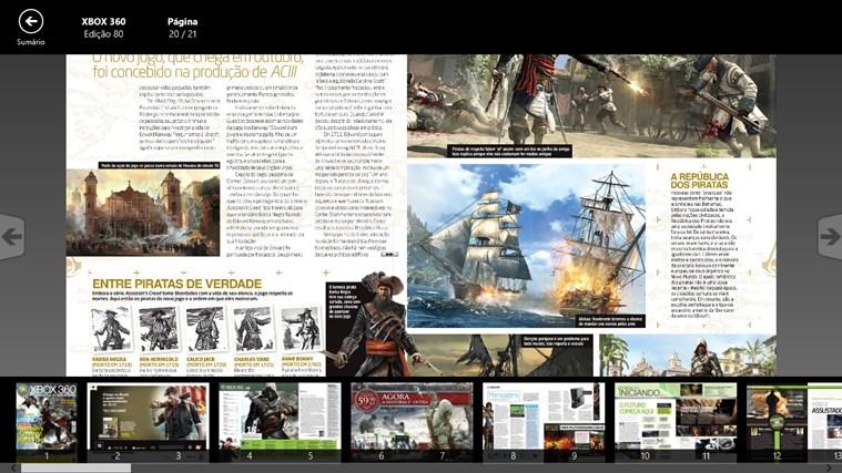 Revista Oficial do Xbox captura de tela 3