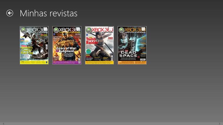 Revista Oficial do Xbox captura de tela 5