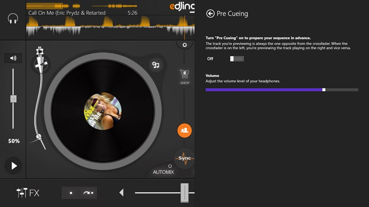 edjing - DJ mixer console studio - Play, Mix, Record & Share your sound! screen shot 3