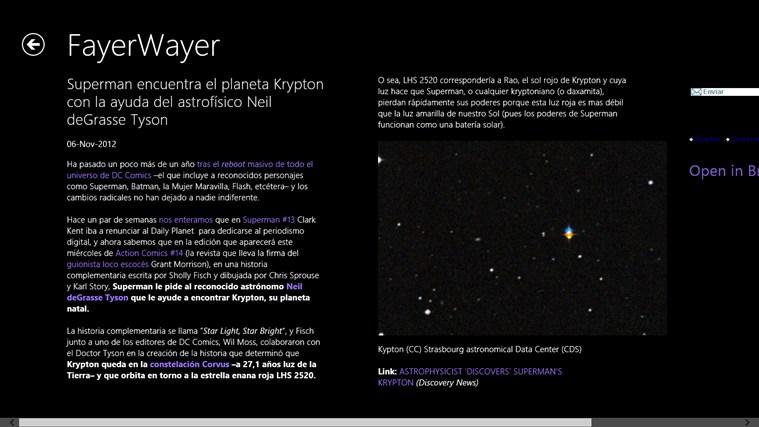 Noticias Fayer Wayer screen shot 1