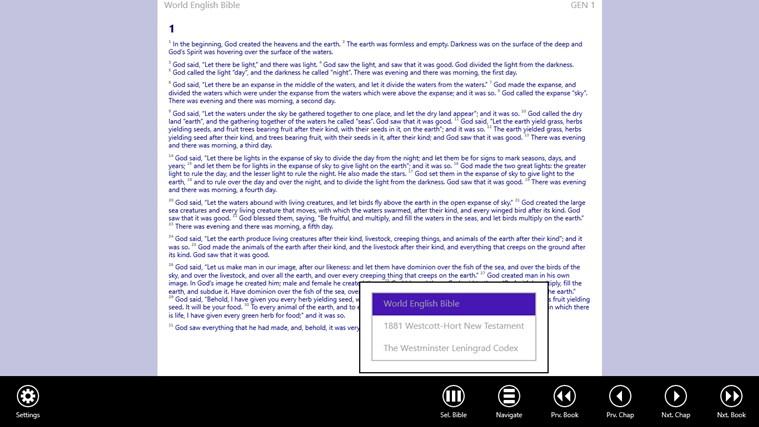 Bible App schermafbeelding 1