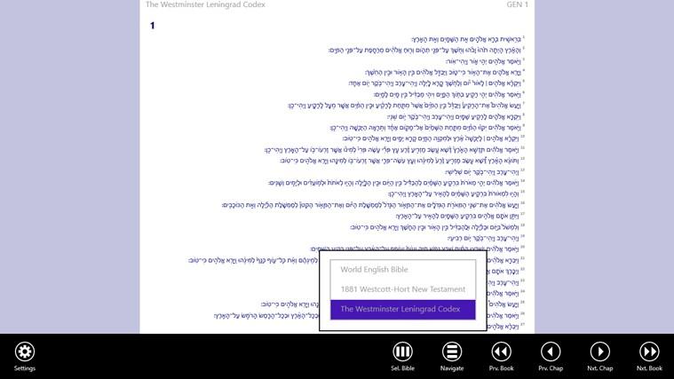 Bible App schermafbeelding 3